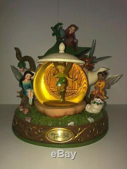 Disney TINKERBELL & The Lost Treasure Fairies SNOW GLOBE/TEAPOT