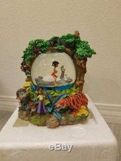 Disney The Jungle Book Musical Snowglobe Bear Necessities Water Snow Globe Box