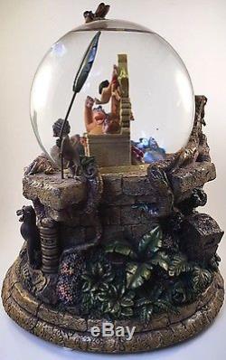 Disney The Jungle book Large 35th Anniversary Snow globe Rare