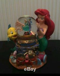 Disney The Little Mermaid Ariel The Theater Musical Snow Globe-RARE & MINT