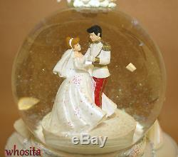 Disney The Little Mermaid Ariel Wedding Snow Globe Snowglobe Cinderella Figurine