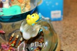 Disney The Little Mermaid Music Snow Water Globe Part Of Your World