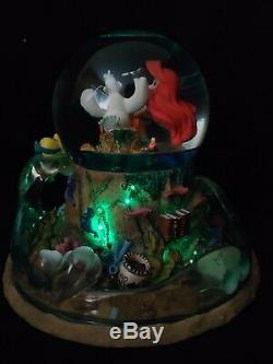 Disney The Little Mermaid Musical Snow Globe Part Of Your World, Drawing & Pin
