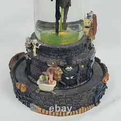 Disney The Nightmare Before Christmas Halloween Town Snow Globe with Light