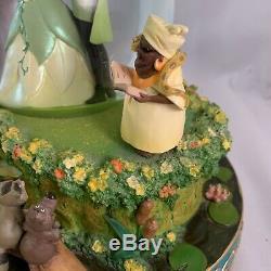 Disney The Princess And The Frog Snow Globe Wedding Scene Under The Tree