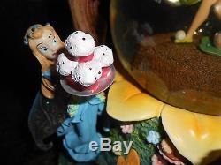 Disney Tinkerbell Fairies Dance Of The Sugar Plum Fairy Party Snow Globe Rare