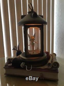 Disney Tinkerbell Lanturn Snowglobe Peter Pan Hook Fairy Disneyland Tinker Bell