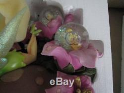 Disney Tinkerbell Large Snowglobe NIB Item DA11461 RARE