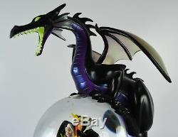 Disney Villains Dragon Snowglobe Jafar Cruella Evil-Queen Hades Maleficent Globe