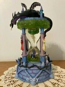 Disney Villains Hourglass Snow Globe with Working Lights and Sounds