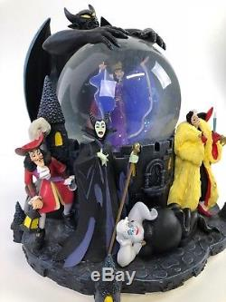 Disney Villains Snow Globe Share a Dream Come True Parade Grim Grinning Ghosts