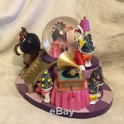 Disney Who Framed Roger Rabbit Jessica Dressing Room Musical SnowGlobe-MIB