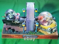Disney Who Framed Roger Rabbit Snow Globe Lights Up & Moves Excellent Condition
