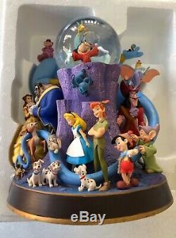 Disney Wonderful World Of Disney Snow Globe