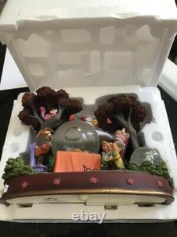 Disney alice in wonderland snowglobe in original box