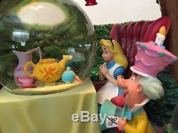Disney's Alice In Wonderlands Unbirthday SnowGlobe