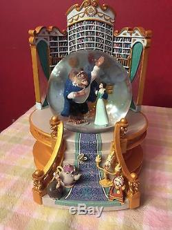 Disney's Beauty And The Beast Snow Globe