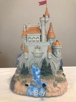 Disney's Beauty and the Beast Castle Snowglobe with light up Rose