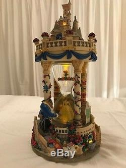Disney's Beauty and the Beast Hourglass Musical Snowglobe