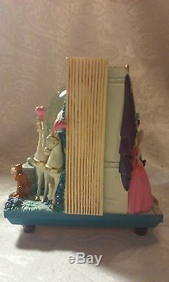 Disney's Cinderella The Magical Journey Musical 2 Sided Snow Globe RARE, NO BOX