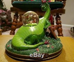 Disney's Pete's Dragon musical snow globe rare