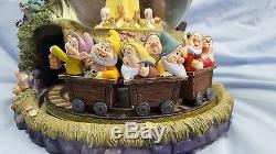 Disney's Snow White & The Seven Dwarves Snowglobe Music Box