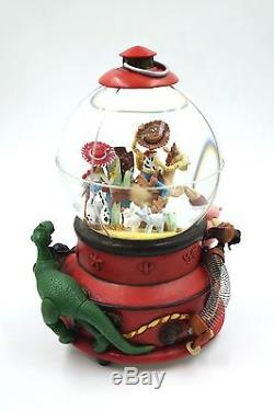 Disney's Snow globe woody's round up toy story. (RARE new in the box) Item21382