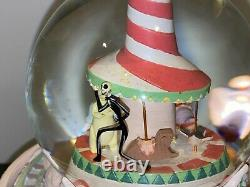 Disney's The Nightmare Before Christmas Christmas Town Snow Globe Tested