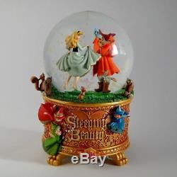 Disneys Art of Aurora Sleeping Beauty Snow Globe NIB, Sleeping Beauty Music Box