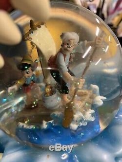 Disneys Pinocchio Monstro Snow Globe