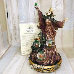 Disneys The Evil Queen poison apple villains Snow Globe Snow Dome Figure Used