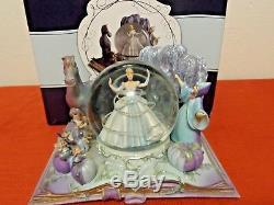 Hallmark Disney Cinderella Snowglobe Wonders Within NIB