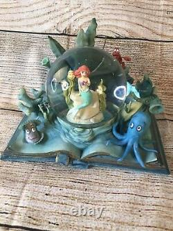 Hallmark Wonders Within Disney Little Mermaid Snow Globe