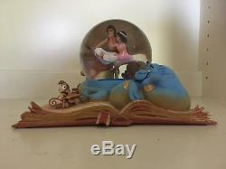 Hallmark Wonders Within Disney Water Snow Globe Aladdin New in Box