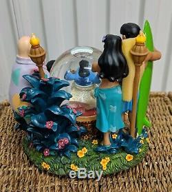 LILO & STITCH DISNEY Elvis Musical SNOWGLOBE Snow Globe Aloha Oe NEW IN BOX