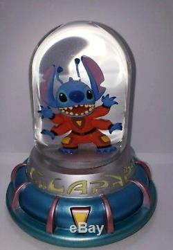 LILO & Stitch Disney Water Alien Capsule Pod Snow Globe