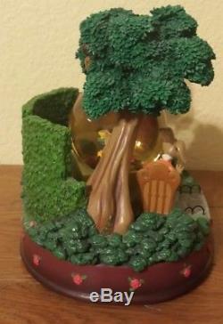Large Disney Alice in Wonderland Music SnowGlobe Very Merry Unbirthday Tea Party