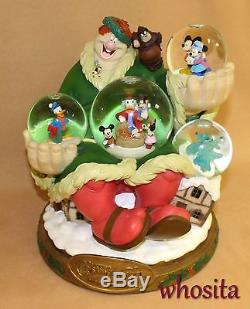 MLM Disney's Mickey Mouse Christmas Carol LE 300 Snowglobe Snow Globe