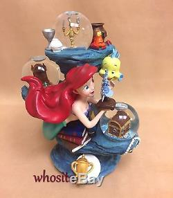 MLM Disney's The Little Mermaid Ariel LE350 Disney Auctions Snow Globe Snowglobe