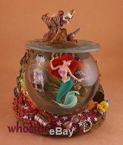 MLM Disney's The Little Mermaid Ariel's Grotto Coral Snowglobe Snow Globe