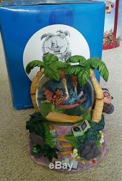 NEW Disney Lilo & Stitch Snow Globe Music and Lights Up NEW! Original Box