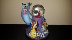 NIB DISNEY Store Retired Wonderful World of Disney Light Up Musical Snowglobe