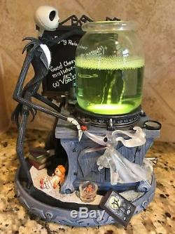 NIB Disney Store Nightmare Before Christmas Snow Globe Jack's Science Project