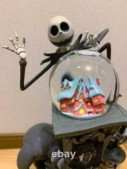 NIGHTMARE BEFORE CHRISTMAS SNOW GLOBE DOME MUSIC BOX 10th Anniversary Disney 15