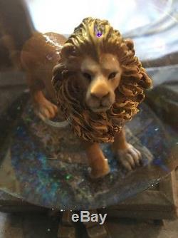 Narnia Snowglobe Bookends New Unused Walden Disney Direct Very Rare