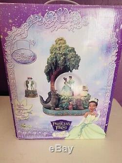 New In The Box Disneys Princess & The Frog Tiana Snow Globe Rare