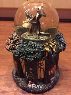 Nightmare Before Christmas Disney Snow Globe Forest Tree