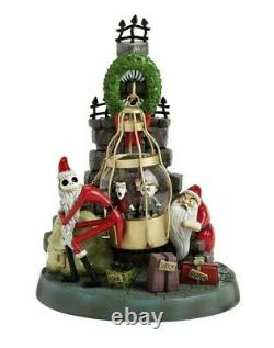 Nightmare Before Christmas Lock Shock Barrel Snow Globe withBox Retired ULTRA RARE