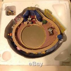RARE Disney Beauty & The Beast Musical Spin Figurines Music Box-MIB