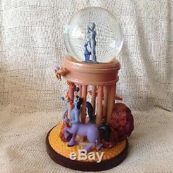 RARE Disney FANTASIA GODDESS Lite Up Musical Figurines SnowGlobe